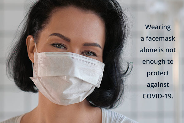 does wearing a face mask protect against covid-19?