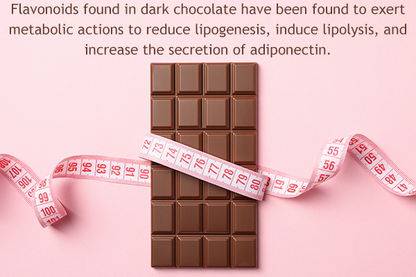 efficacy of dark chocolate in weight loss