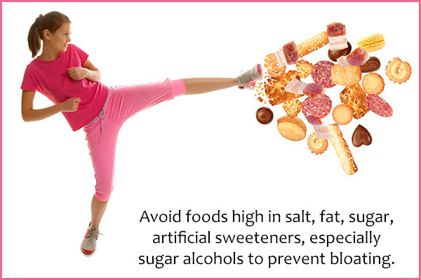 tips to prevent and reduce bloating