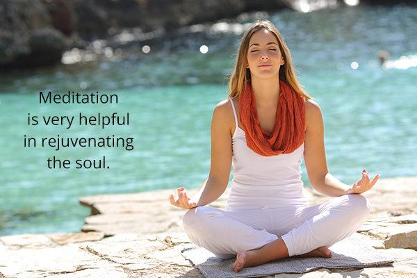 meditation for rejuvenating the soul