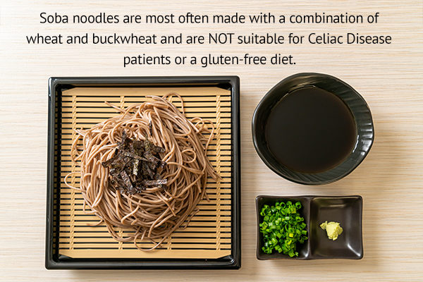 soba noodles and celiac disease