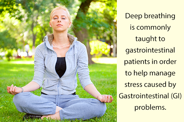 deep breathing exercises can help manage vomiting