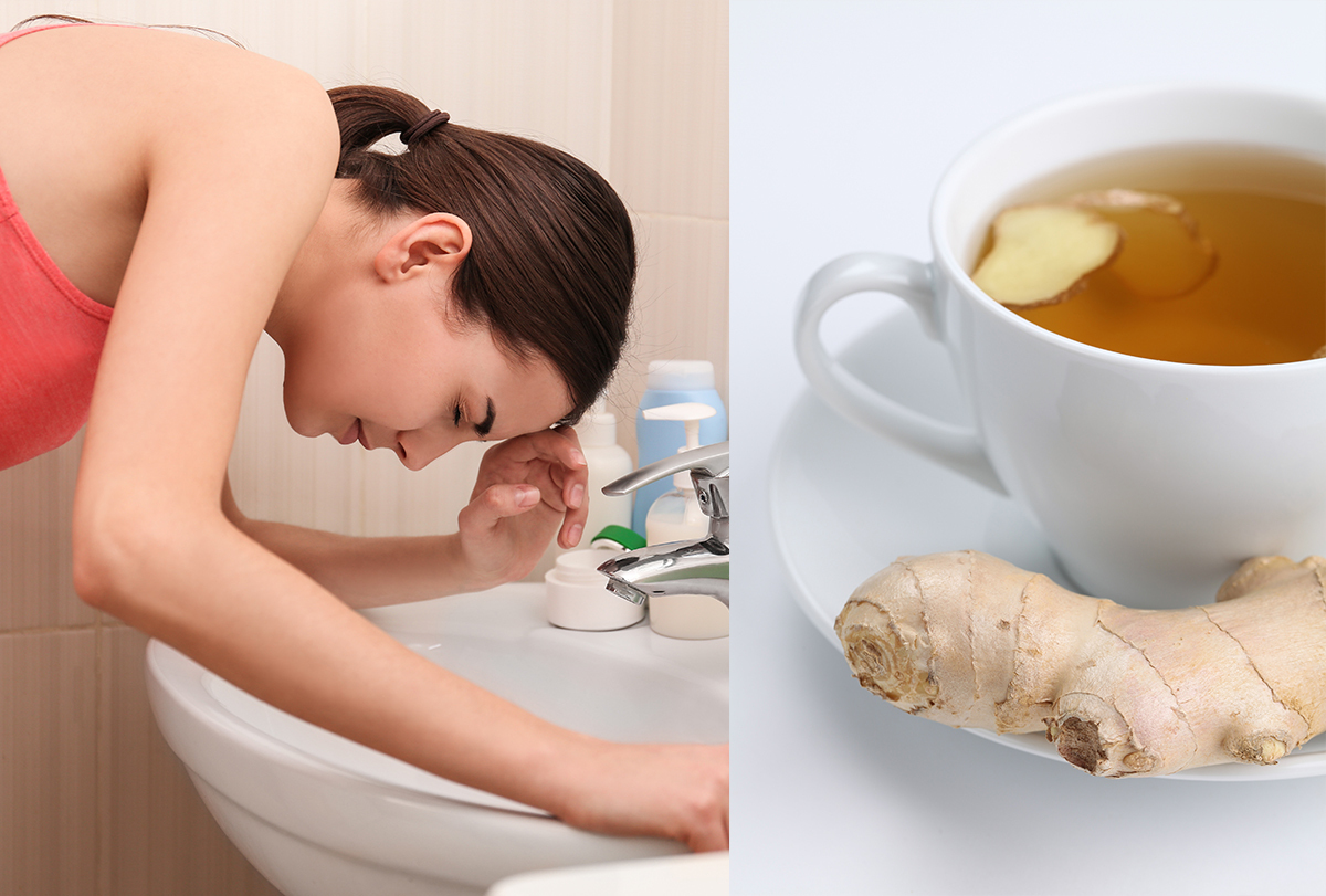 at-home remedies to stop vomiting