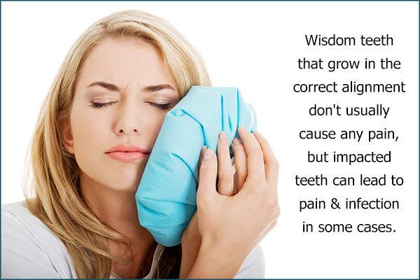 reasons behind wisdom tooth pain