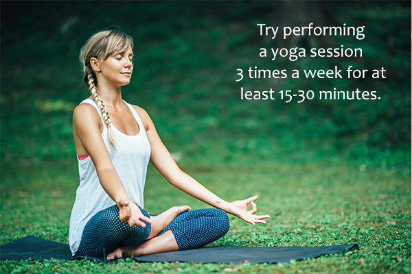 practicing yoga regularly can help stay in shape
