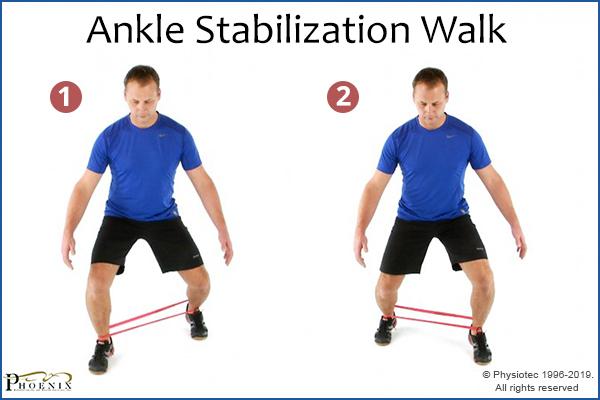 ankle stabilization walk