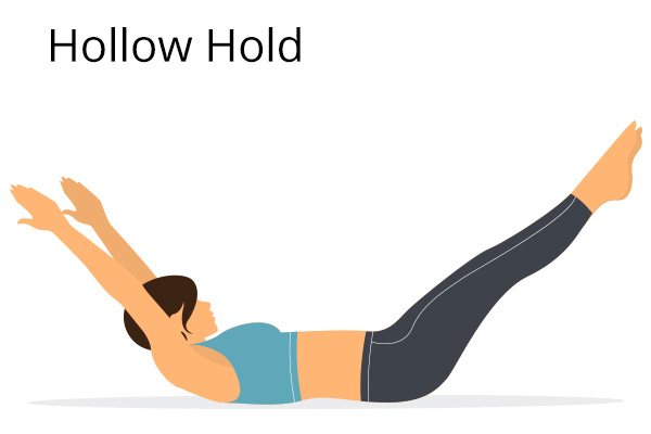 how to do the hollow hold?