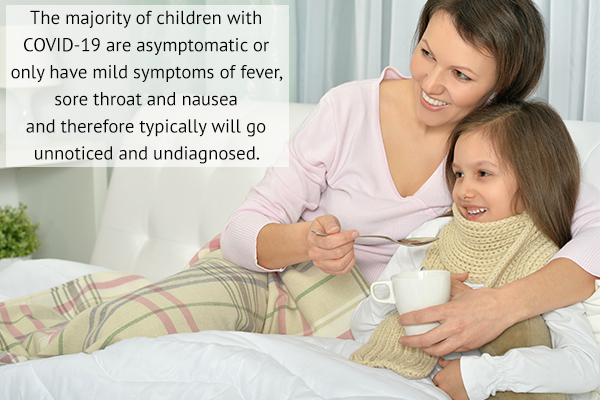 symptoms of covid-19 that can manifest in children