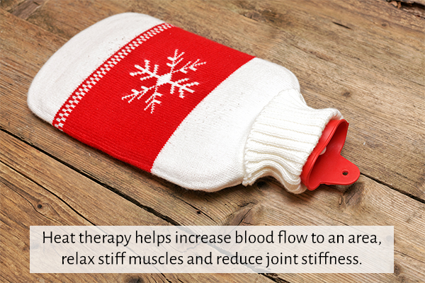 role of heat therapy in soothing an injury