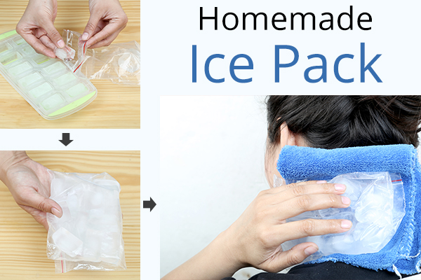 how to make an homemade ice pack?