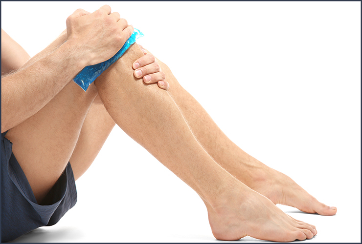 how to treat twisted knee pain
