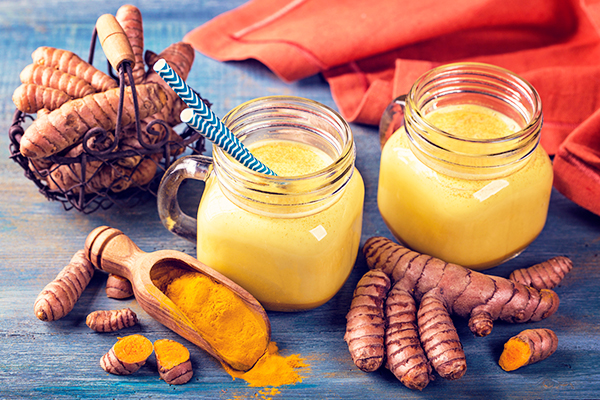 consumption of turmeric can help manage excess phlegm production