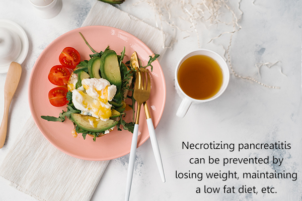measures that can help prevent necrotizing pancreatitis