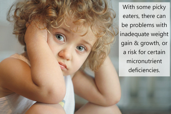 problems associated with picky eating
