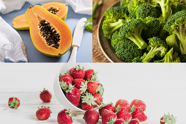 foods that can help prevent skin aging