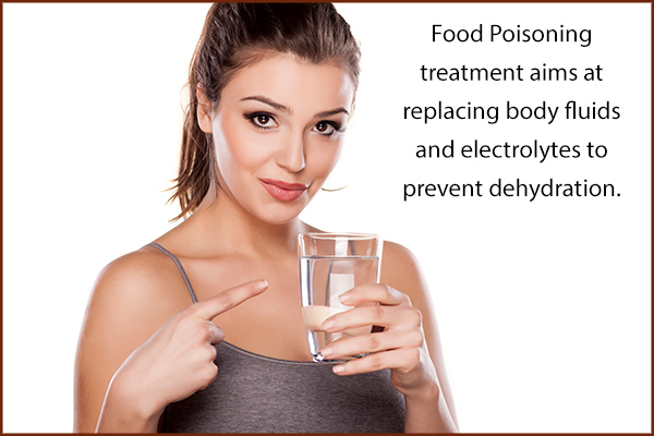 treatment options for food poisoning