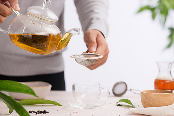 consuming herbal teas can relieve the symptoms of GERD