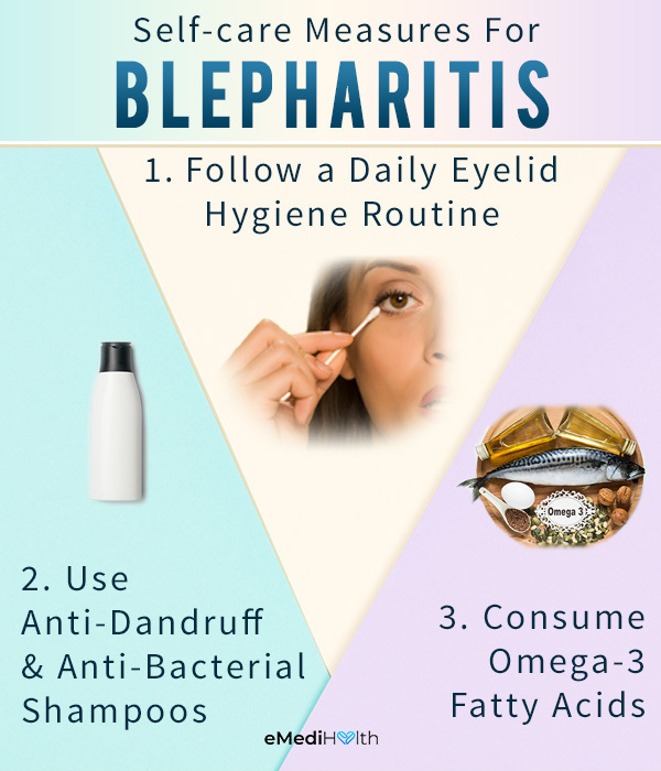 self-care measures to prevent blepharitis