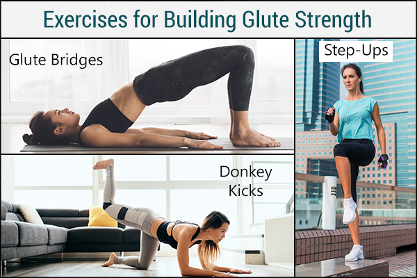perform exercises to build glute strength for preventing back pain