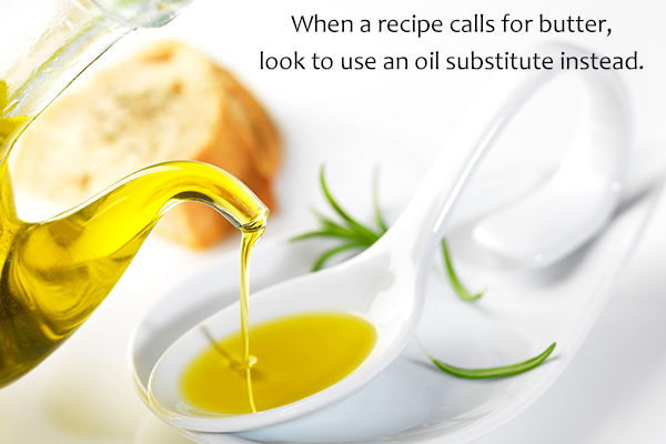 healthy substitutes for butter that can be used while cooking