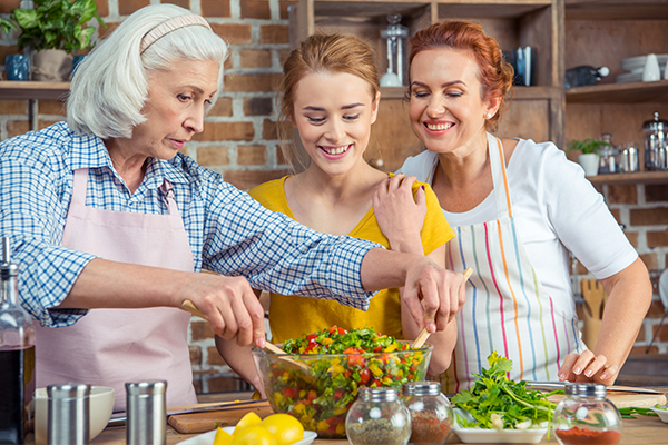 cooking food also burns calories and aid in weight loss