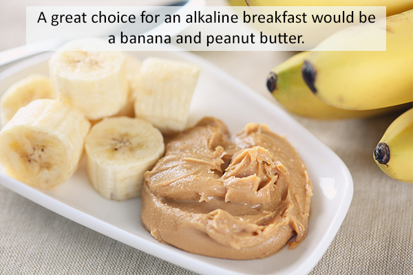healthy breakfast foods that can be eaten on an alkaline diet