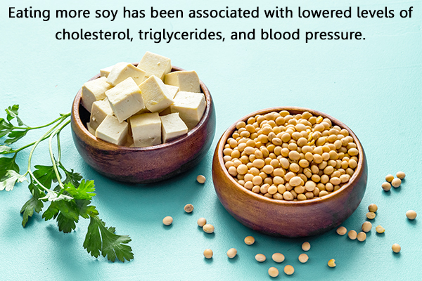 consuming soy products has many health benefits