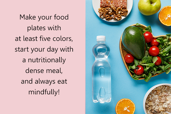 points to remember when trying to eat healthy
