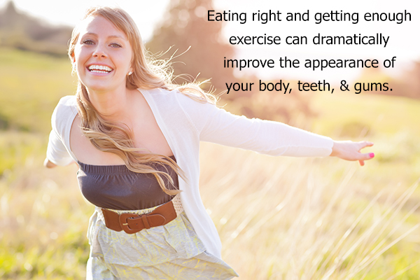improve your other health conditions for improving your smile