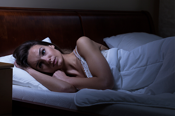 stress can often lead to insomnia