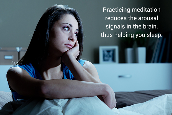 practicing meditation can help fight insomnia