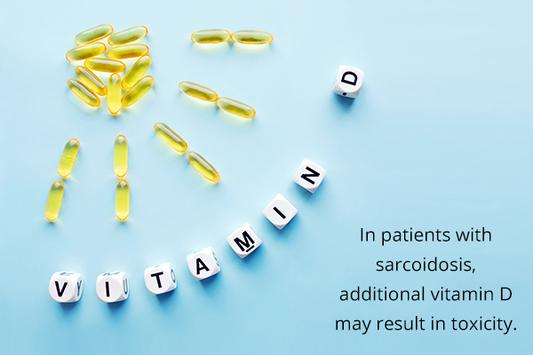 can excess vitamin D cause toxicity in patients with sarcoidosis?