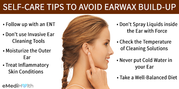self-care tips to prevent earwax buildup