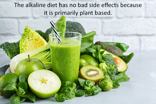 side effects of following an alkaline diet