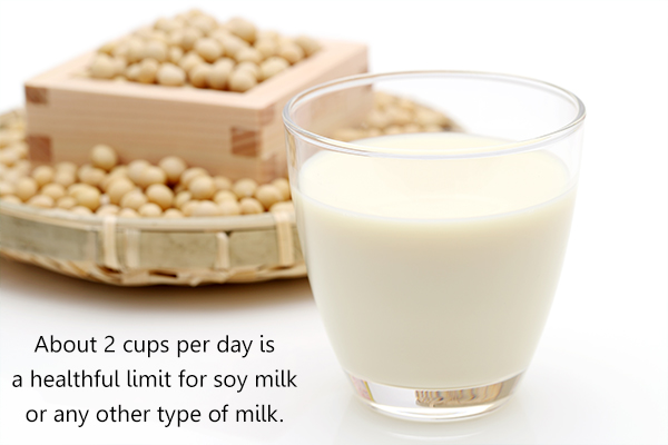 is daily consumption of soy milk safe?