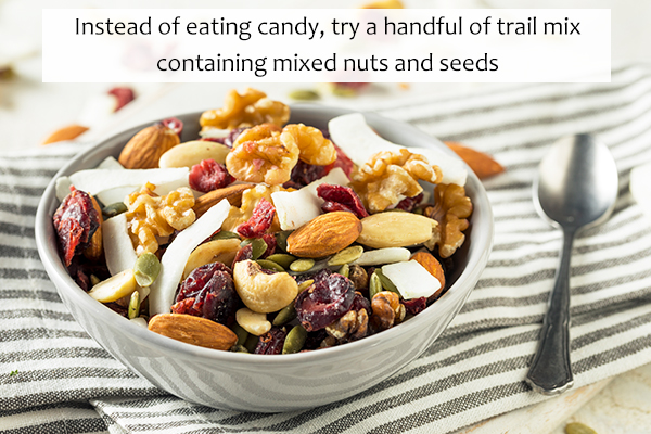 healthy snacks that can be substituted for everyday snacks