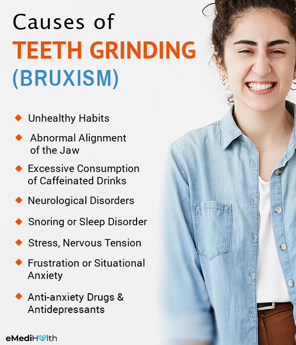 what causes teeth grinding (bruxism)?