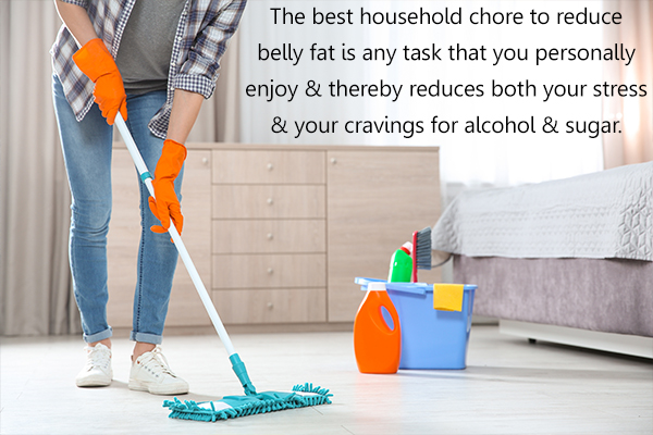 best household chores that can reduce belly fat