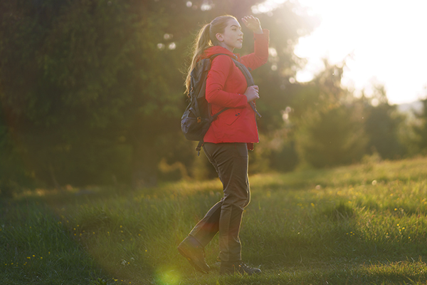 walking is an soothing activity that helps to calm your mind