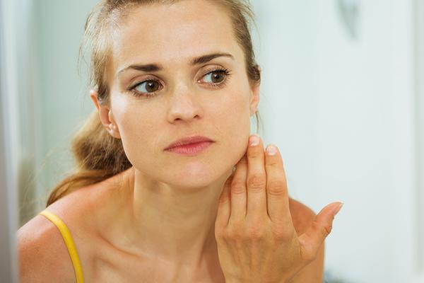 diagnosing dry skin