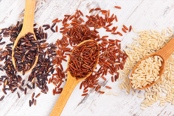 proper selection and storage of brown rice