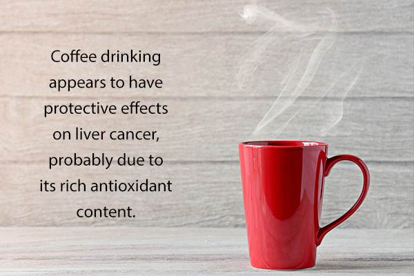 can drinking coffee reduce the risk of liver cancer?