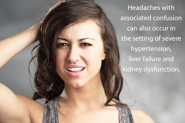 headaches are often associated with confusion