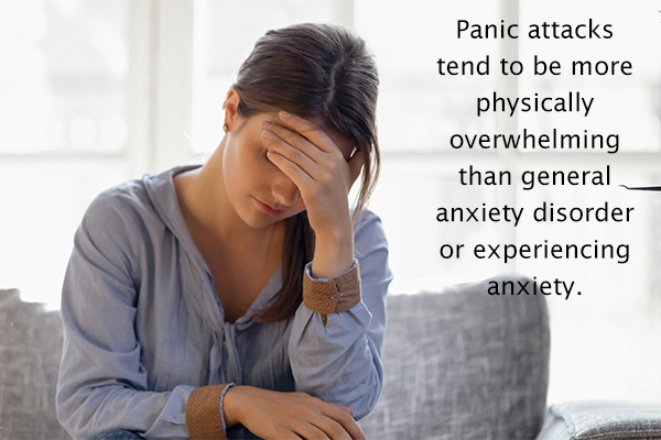 differences between anxiety and panic attacks