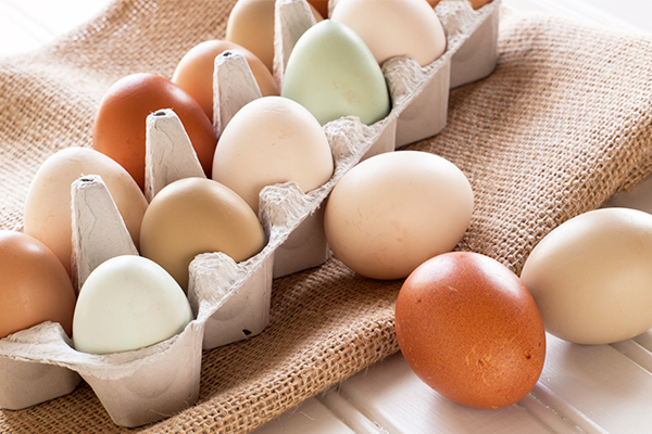 varities of eggs available