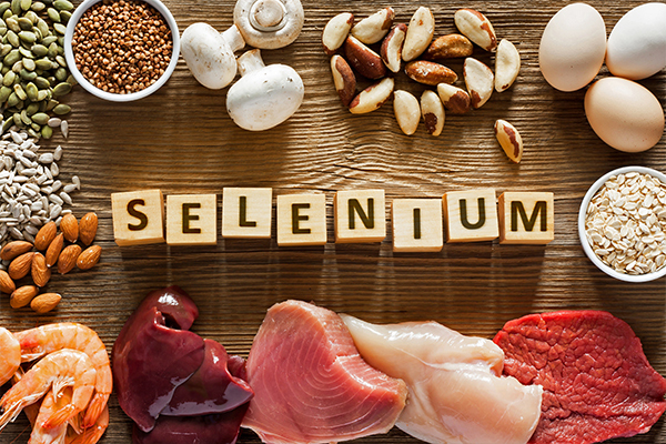 including selenium in your diet can help manage hyperthyroidism