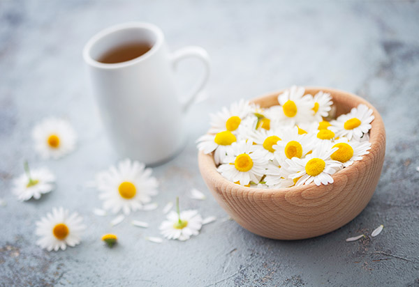 drinking chamomile tea can help prevent ibs