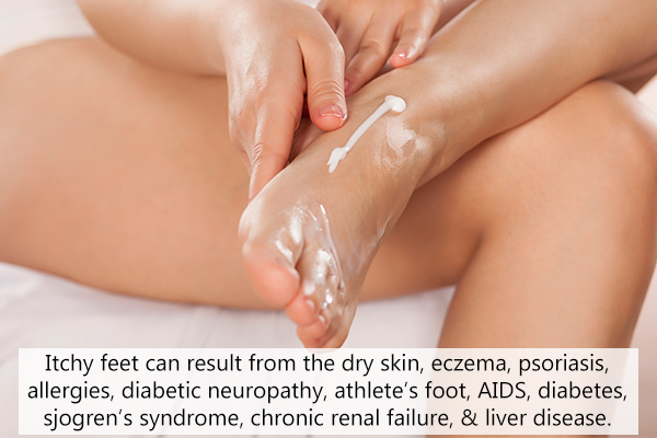 causes behind itchy feet