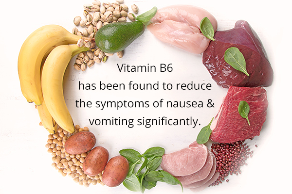 maintaining adequate levels of vitamin B6 can help prevent nausea