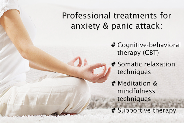 professional treatments for anxiety and panic attacks